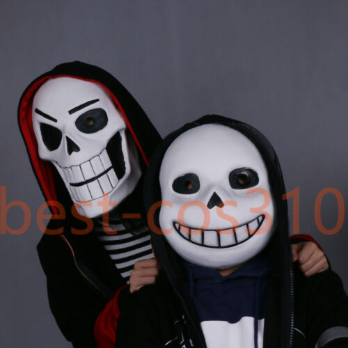 Undertale Mask Cosplay Sans Helmet Latex Papyrus Mask Costume Props Adult New