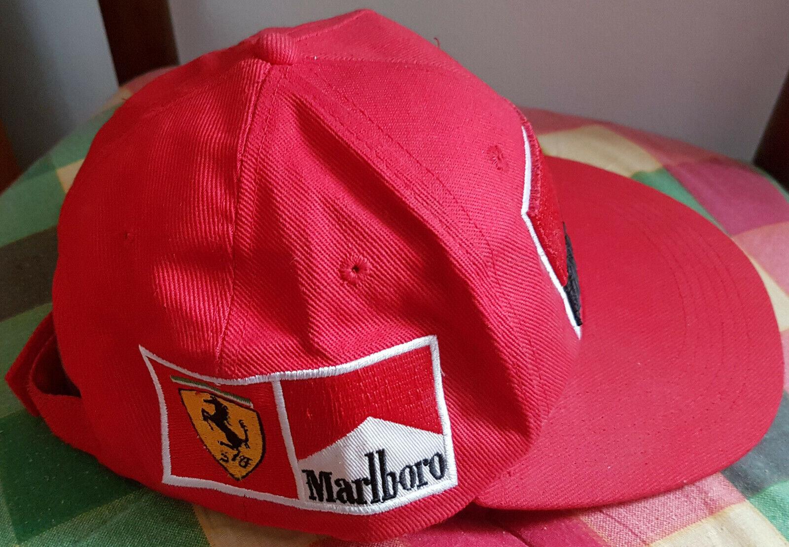 Cappello F1 Scuderia Ferrari MALBoro anni 90 introvabile introvabile introvabile raro adb438