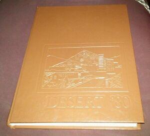 1980 Yearbook University of Arizona Tucson AZ Desert 80 U of A Memorabilia