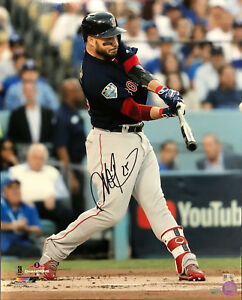 new concept 5380a 74fa5 Details about Steve Pearce Boston Red Sox Signed Autographed World Series  16x20 Photo MLB
