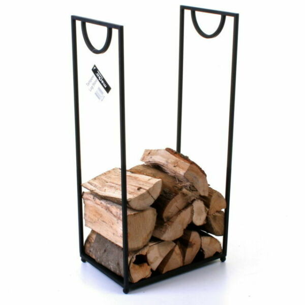 72 cm Grand rectangulaire Log Storer Firewood Rack Fireside Cheminée de stockage Carry