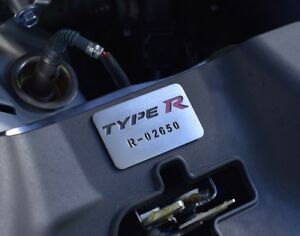Plate Honda Civic X Type R Fk8 Gt Sport Plus Prestige Touring I Vtec