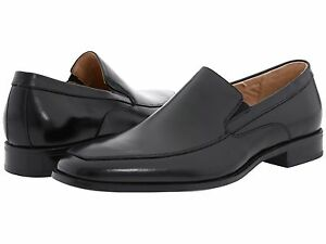 Stacy Adams Black Mens Leather Jonah Loafers