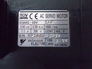 YASKAWA-SERVO-MOTOR-SGMG-09V-2AB
