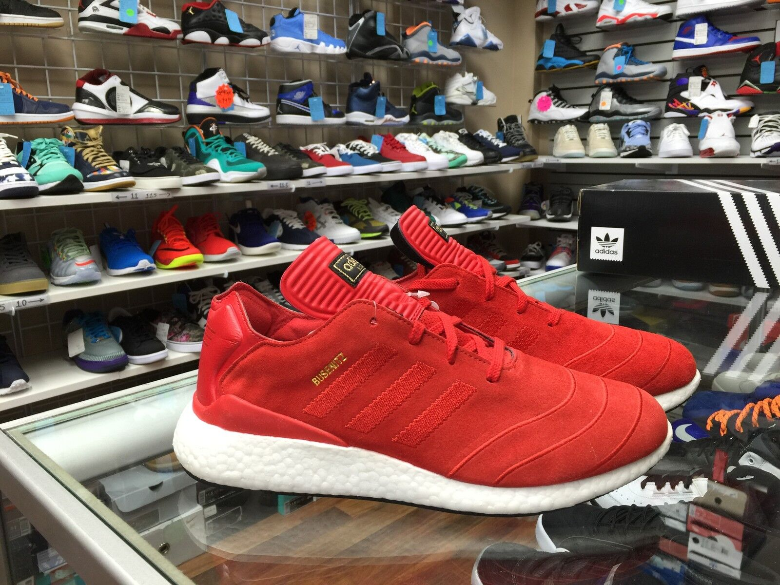 bf01c250b93df adidas Busenitz Pure Boost Mens SNEAKERS F37885 10 for sale online ...