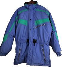 a0862031dd item 5 SKI ALPINE Womens Coat Large Blue Full Zip Insulated Winter Nylon  Jacket o6 -SKI ALPINE Womens Coat Large Blue Full Zip Insulated Winter  Nylon Jacket ...