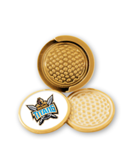 Gold Coast Titans NRL Visor Cap Hat Clip and Ball Markers