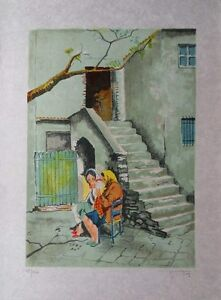 Viktor-Viko-all-Old-Dames-Lithography-Signed-and-Numbered-150ex