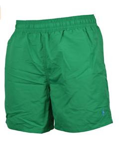 Polo Ralph Lauren Mens Genuine Hawaiian Beach Boxer Swim Shorts Green Size S, XL