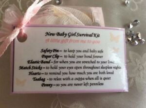 Baby Shower Gift For A Mother To Be Survival Kit Gift For A New Mum