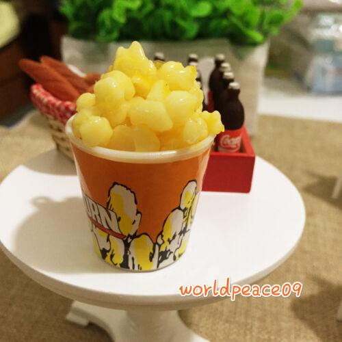 Dollhouse Simulation Popcorn Puffed Rice 1:6 Model Miniature Food Accessories