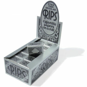 Rips-Plata-Xtra-Thin-Regular-Papel-de-Liar-Cigarrillos-en-un-Rollo-5