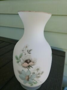 Applied-Design-Frosted-Satin-Glass-Flowers-10-034-Vase