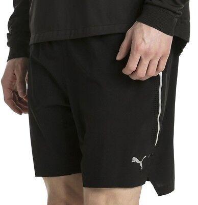 Flight Tracker Puma Powerrun 2 In 1 Pantaloncini Da Uomo Corsa-nero-
