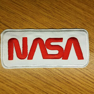 NASA-white-embroidered-Patch-4-inches-long