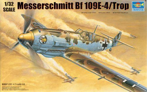 Trumpeter 1 32 Messerschmitt Bf109 E-4 Tropical