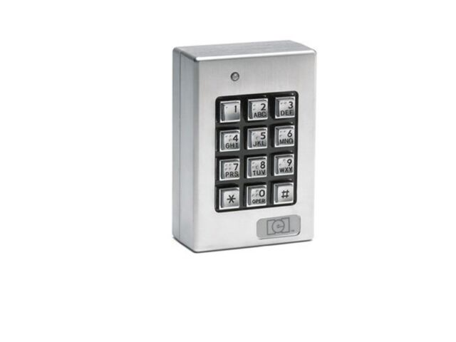 International Electronic Inc DoorGard 212SE Series Access Control Keypad IEI
