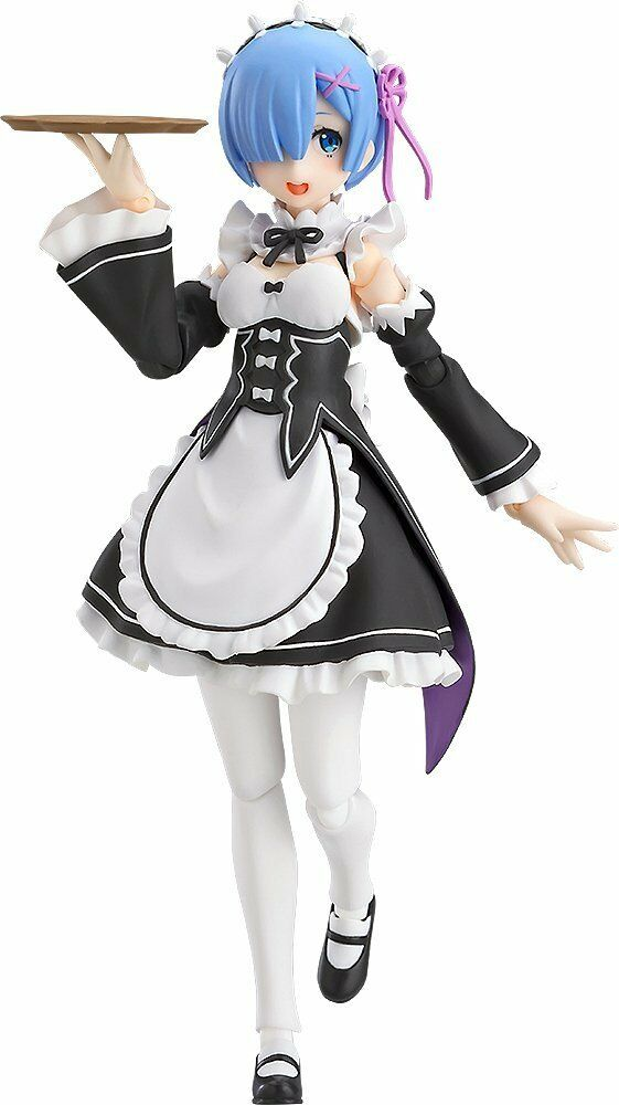 Max Factory  Re ZERO Starting Life in Another World figma Rem Action Figure