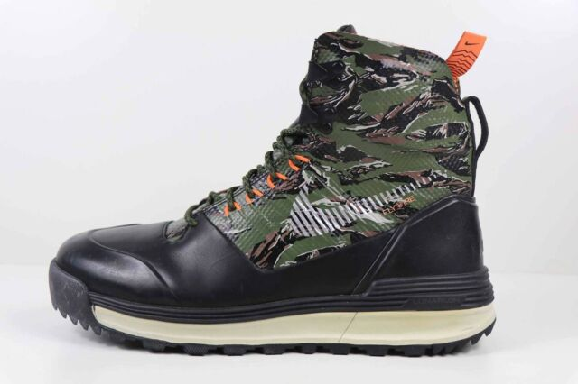 official photos 5bffc a7d28 Mens Nike Lunarterra Arktos ACG BOOTS Size 8 Black Camo Green Brown 616179  320