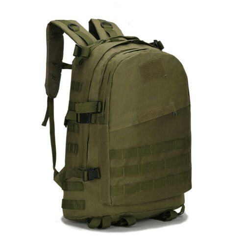 40L Military Outdoor Trekking Backpack Army Tactical Nylon Waterproof Heavy Bag