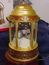 2014 NEW HALLMARK Santa's MAGIC LANTERN LIGHTS HE TALKS! CHRISTMAS ORNAMENT MIB