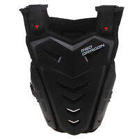S-xxxl Motorcycle Back Chest Protector Body Armor Vest Guard Adjustable Shoulder