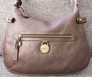 Image is loading Mulberry-Somerset-Hobo-Bag-in-Brown-Leather 05412a2fed46e