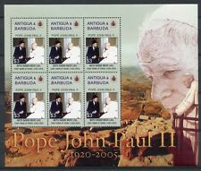 ANTIGUA 2005 Papst Johannes Paul II. Pope John Paul 4283 ** MNH