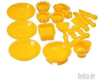 LEGO Friends  - 17 Teile Geschirr Besteck / Küchenzubehör / hell orange NEUWARE