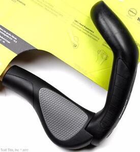 ergon gp5 l large ergo 5 finger handlebar bike grips bar ends mtb