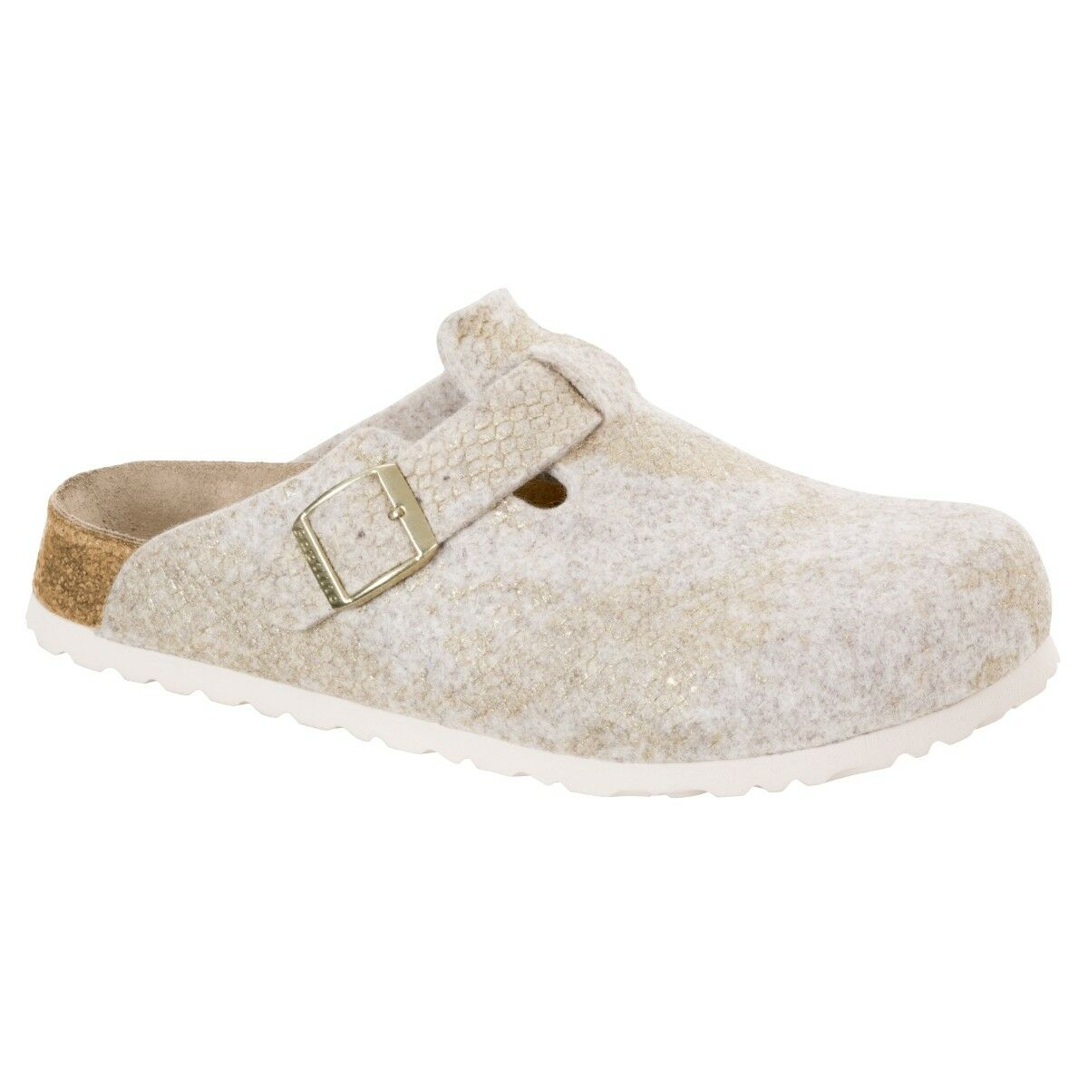Birkenstock Papillio Boston Wollfilz Schuhe Pantoletten Weite schmal 1007101