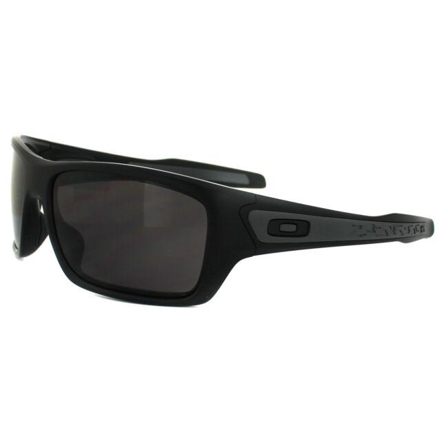1e6d3b43fce Oakley Sunglasses Turbine OO9263-01 Matt Black Warm Grey