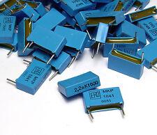 50x ero MKP 1841 diapositive-condensatori, polipropilene, 2.2 NF/1600 Volt, NOS
