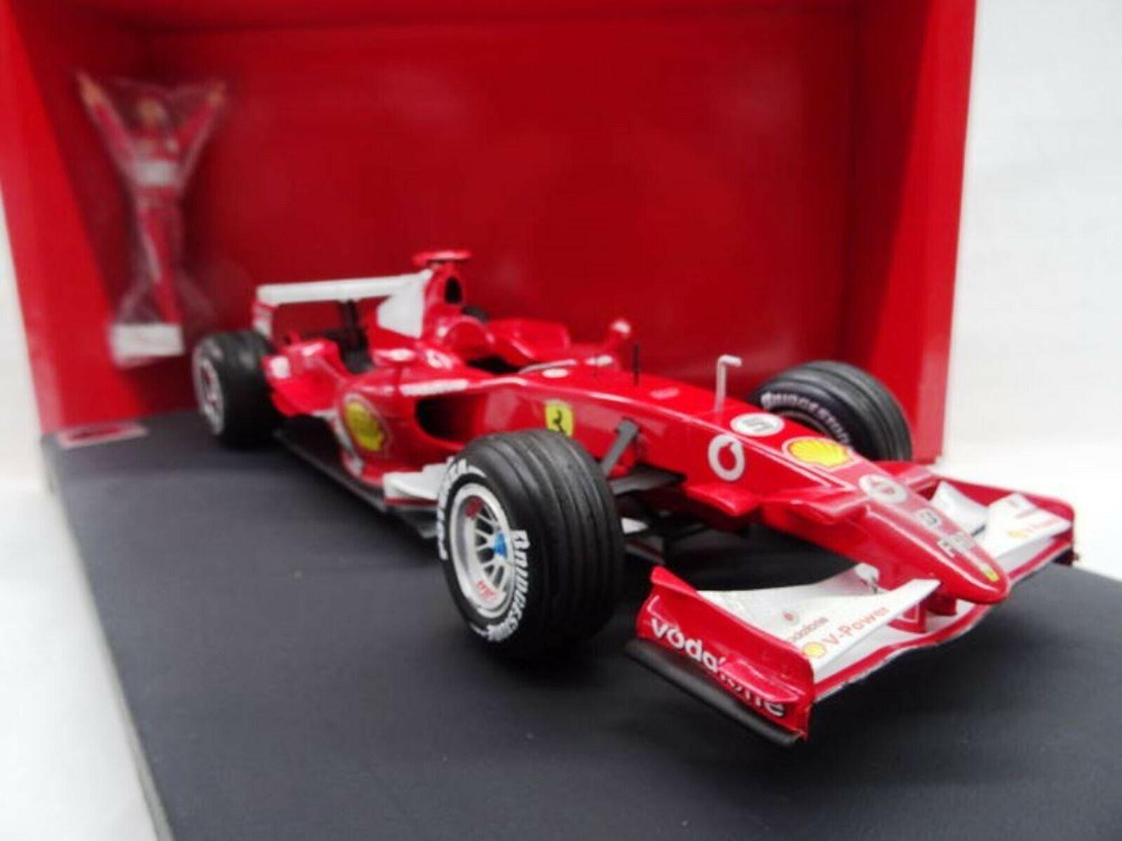 WOW estremamente raro FERRARI 2006 248 F1 Schumacher VINCITORE ITALIA 1 18 HOT WHEELS