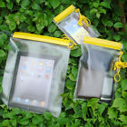 3X Waterproof Camera Mobile Phones Pouch Dry Bag Case Cover KAYAK CANOE CAMPING
