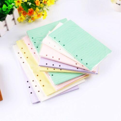 40 Sheets//Pack Notebook Notizblock Planer Tagebuch Leeres Schreibpapier