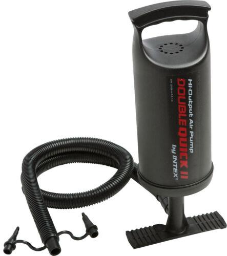 INTEX Luftpumpe Standpumpe Doppelhubpumpe Handpumpe für Pool Luftmatratze Quick2