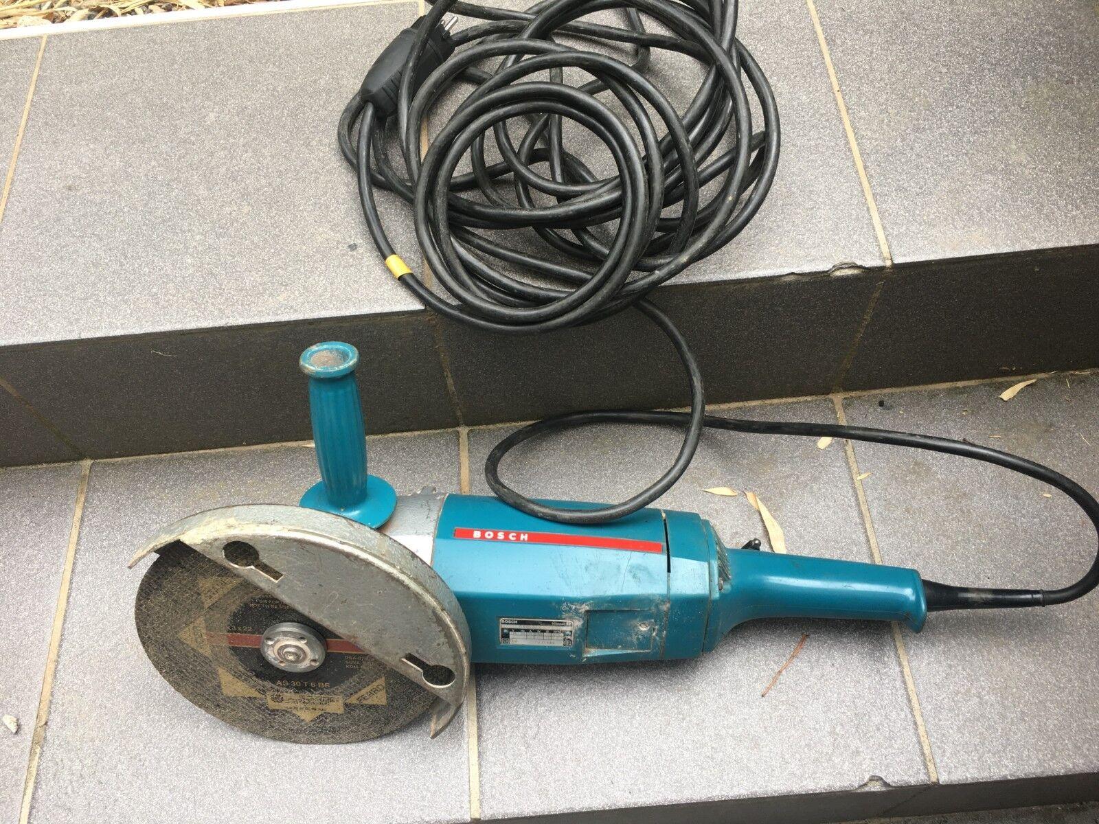 Bosch blau Flex Winkelschleifer GWS 0 601 332 903 2200 Watt Gewerbe