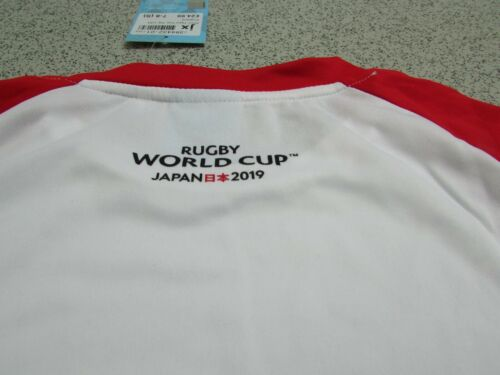 7-8 Years England Rugby World Cup Japan 2019 Kid/'s T-Shirt Size