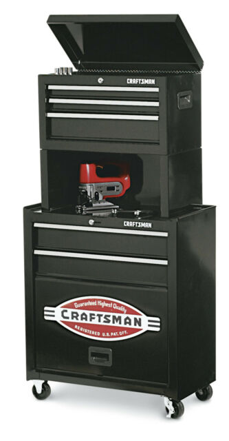 Rolling Tool Cabinet Storage Chest Box Garage Toolbox Organizer Drawer Craftsman