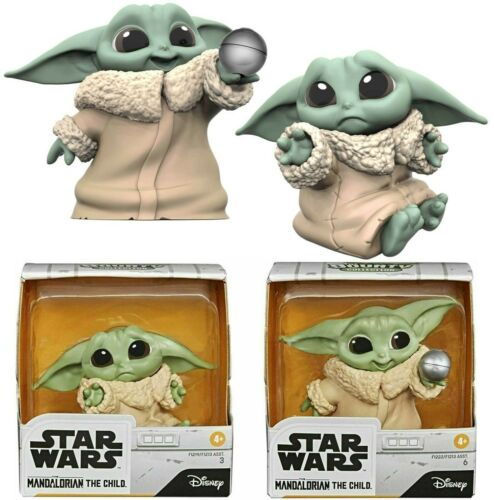 Star Wars The Mandalorian The Child Baby Bounties Hold Me and Ball 2-Pack Figure