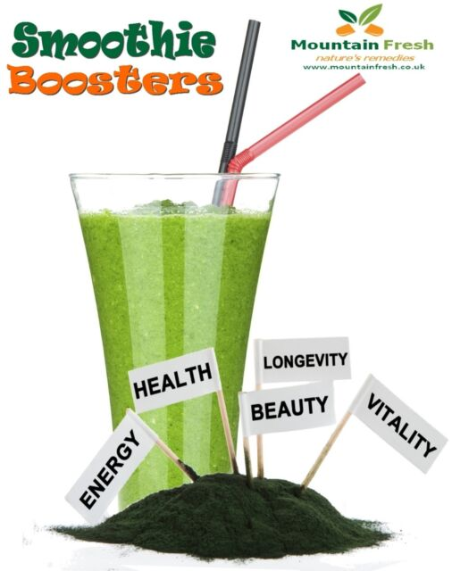 Mega 30 Smoothie Booster 100% Natural Herbs FREE UK Postage