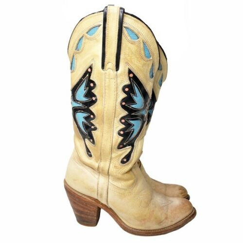 Miss Capezio Butterfly Western Boots Size 7