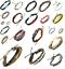 Leather-Wrap-Bracelet-Bangle-Braided-Rope-Multi-Layer-Cord-Jewellery-Men-Women thumbnail 4