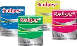 Sculpey III Oven Bake Clay. Choose Your Colour By One.