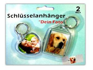 2er-Set-Acryl-Foto-Schluesselanhaenger-herz-und-eckige-Form-Fotorahmen