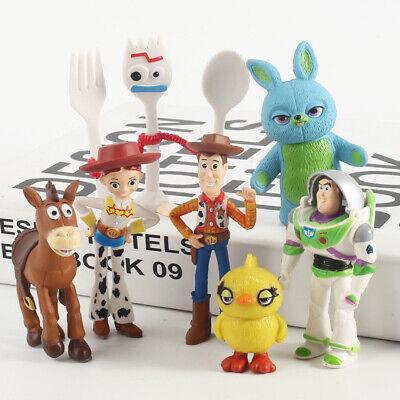 1 X TOY STORY TINY Figurine WOODY JESSIE BUNNY DUCKY FORKY Buzz Lightyear