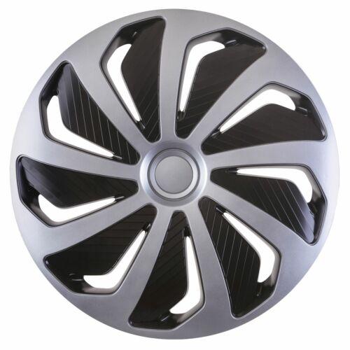 "4x rifiniture ruota Hub Caps 14/"" comprende Vauxhall Vectra Zafira si adatta TIGRA in lega Look"