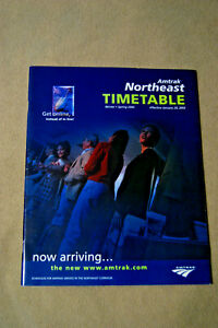 Amtrak-Northeast-Timetable-Winter-Spring-2002