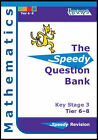 Speedy Question Bank for Key Stage 3 Mathematics: Tier 6-8 by Ruso Bradley, Mark Haslam, June Hall (Paperback, 2006)